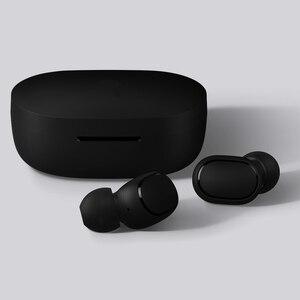 Image 3 - מהיר חינם Xiaomi Redmi Airdots TWS אלחוטי Bluetooth 5.0 אוזניות סטריאו בס עם מיקרופון דיבורית שליטת AI