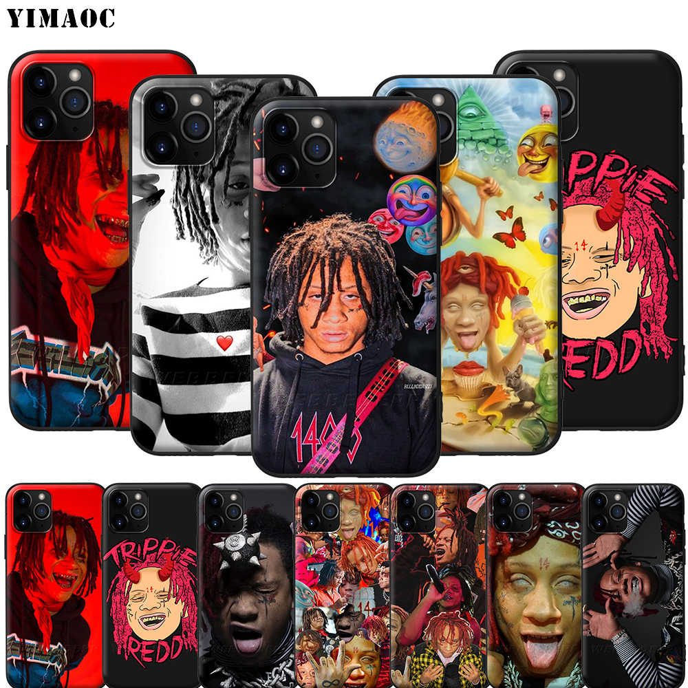 YIMAOC Trippie Redd Silicone Soft Case voor iPhone 11 Pro XS Max XR X 8 7 6 6S Plus 5 5S SE