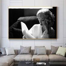 Портретная живопись постер Монро украшение дома Современная