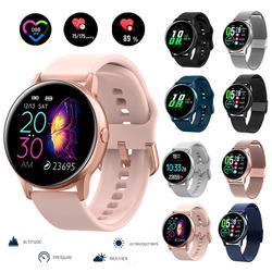 Nova aptidão rastreador mulheres relógio inteligente masculino smartwatch ip68 à prova dip68 água pulseira monitor de freqüência cardíaca esporte pulseira para android ios