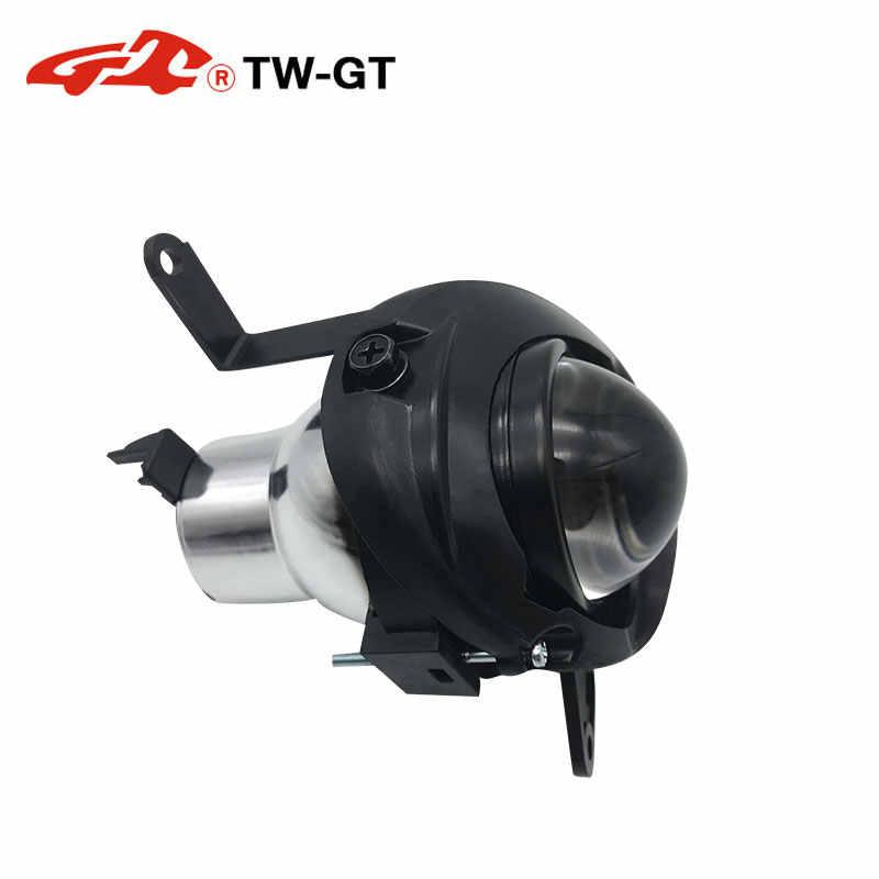 Luz de conducción de estilo de coche TW-GT H/D 2,0 pulgadas lente de foco bi-xenón de Alta Definición compatible con Mitsubishi-Lancer EX/EVO