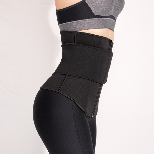 Women Waist Trainer Neoprene Belt Weight Loss Cincher Body Shaper Tummy Control Strap Slimming Sweat Fat Burning Girdle 2