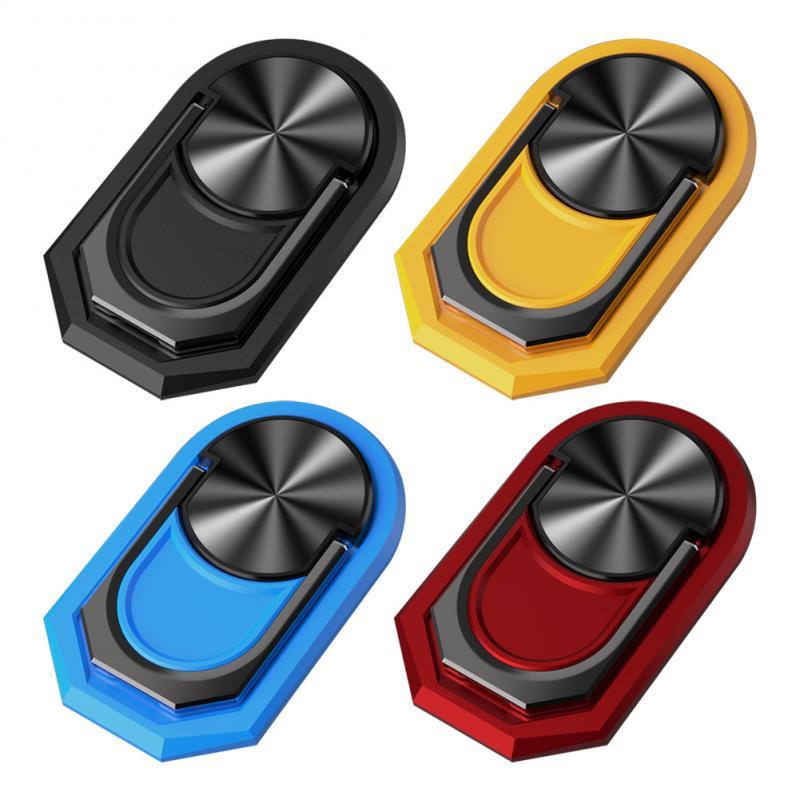 New Multipurpose Mobile Phone Holder 360 Degree Car Air Vent Grip Mount Stand Rotation Magnetic Finger Ring Phone Holder Bracket