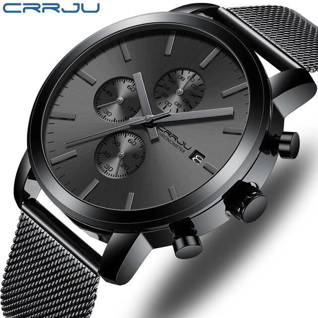 Crrju Quartz Sports watches