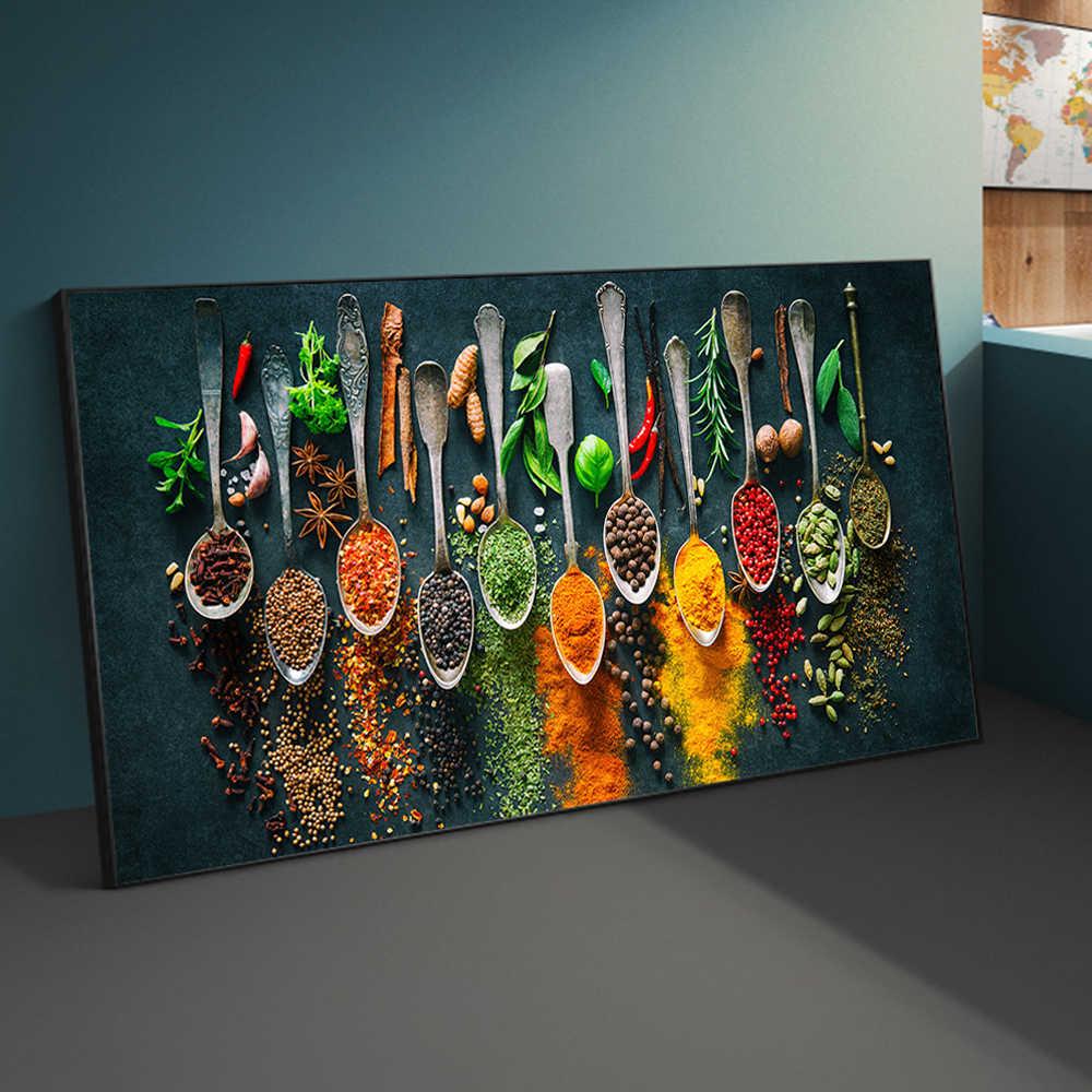 Esso non solo salvaguarda la cucina, ma anche se accuratamente scelto, è un. Zxwl Erbe E Spezie Per Cucinare Poster E Stampe Su Tela Poster E Stampe Tema Cucina Dipinti Su Tela Su Parete Immagini Artistiche Decor 20x40cm Senza Cornice Casa E Cucina Hobby Creativi