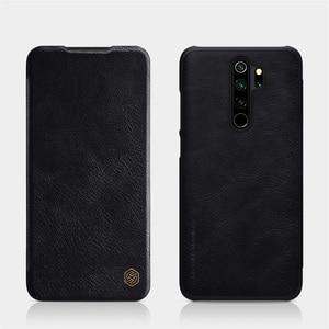 Image 2 - Für Xiaomi Redmi Note 8 Pro Flip Fall Nillkin Qin Vintage Leder Flip Abdeckung Karte Tasche Brieftasche Fall Für Redmi note8 Telefon Taschen