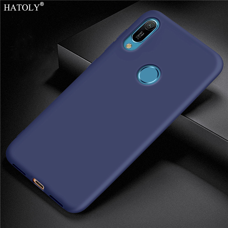 For Huawei Y6S Case Cover Smooth Soft Silicone TPU Bumper Matte Back Cover For Huawei Y6S Phone Cover Case For Huawei Y6S 2020