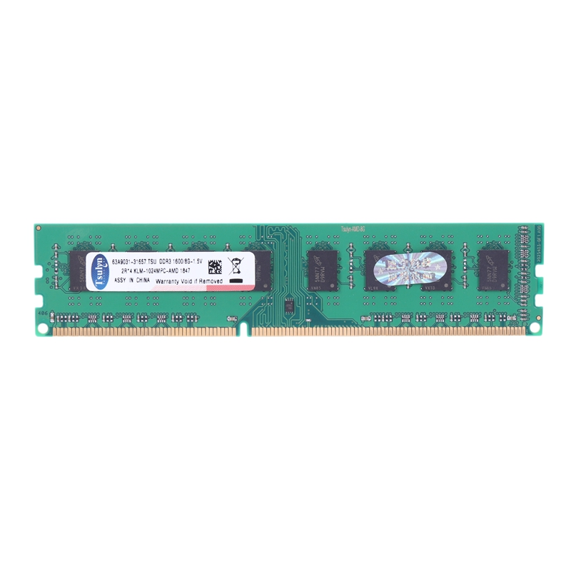 8Gb Ddr3 1600Mhz Ram Desktop Memory Dimm Only For Amd F2 M2 Computer Pc image