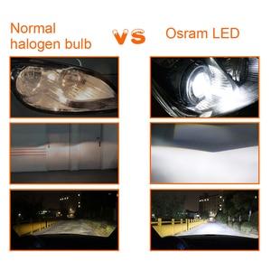 Image 3 - Osram H1 LED H7 H4 H11 Fog Light 9006 9005 HB4 HB3 6000K Car Light 9012 HIR2 12V Led Automotive Headlights Energy Saving Bulb