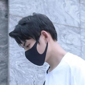 Image 5 - Original Youpin Airpop Gehen 5 stücke Anti nebel Gesicht Maske schwarz Staubdicht, waschbar, und UV schutz maske