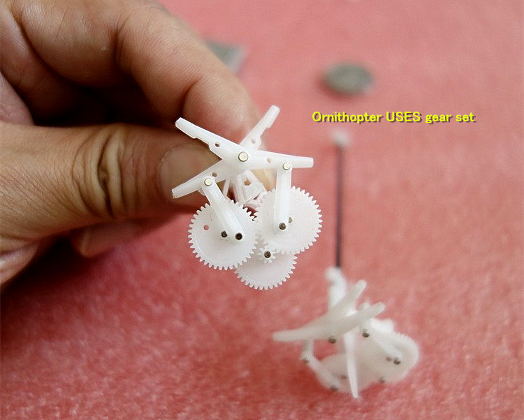 Mini Ornithopter USES Deceleration Components Gear Set 6MM Hollow Cup Motor 1:25.4