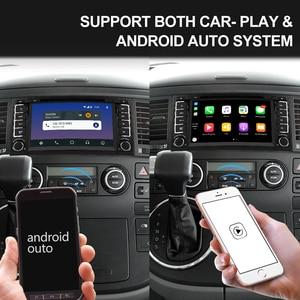 Image 4 - ايسودار 2 الدين أندرويد 9 راديو تلقائي ل VW/Volkswagen/طوارق Canbus سيارة الوسائط المتعددة تحديد مواقع لمشغل أقراص دي في دي ثماني النواة ROM 32 جيجابايت كاميرا DVR