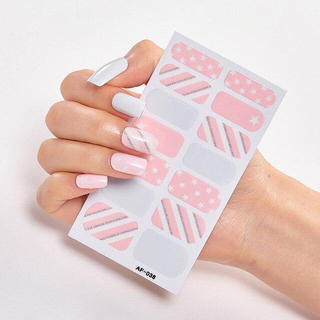 Фото наклейки для ногтей с полным покрытием наклейки дизайнерские цена