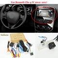 Автомобильная камера заднего вида для Renault Clio 4 IV 2012 ~ 2018-резервная камера заднего вида RCA и совместимый оригинальный экран
