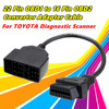 For Diagnostic Scanner OBD1 cable Aux cable connector 22 Pin to 16 Pin OBD2 Free shipping home portable