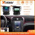 Автомагнитола 2DIN, Android 10,0, стерео для Acura TL 2006-2018, GPS-навигация, видео, мультимедийный плеер, полносенсорный автомобильный радиоприемник