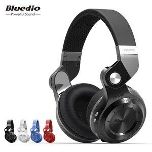 Image 1 - Bluedio T2S (турбина2 дистинктивный) инновационный завёрнутый внутрь дизайн, Bluetooth наушники с встроенным микрофоном, новейший bluetooth 4.1, большая совместимость, HiFi наушники