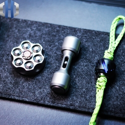 Małe kości drugiej generacji kości psa EDC wspólne Gyro fidget spinner zabawka dekompresyjna w Łomy od Narzędzia na