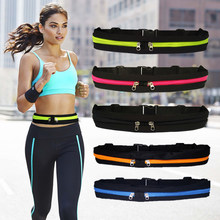 Nylon Waist Pack Men Women Fashion Multifunction Fanny Pack Bum Bags Hip Money Belt Travel For Mobile Phone Bag Unisex(China)