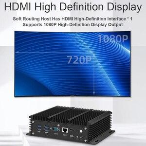 Image 5 - Mini PC Intel Core i5 7200U i3 7100U i7 6 LAN 210at Gigabit Ethernet HDMI 2 * RS232 Firewall Router PFsense Aes Ni Pocket Computer WLAN 6 Router Celeron 2955U 3865U 3965U Lüfterlos Windows 10 7 DDR3L Desktop Industrial