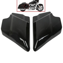 Vivid Black Chrome ABS Side Cover Panel For Harley Touring Street Glide  Electra Road 09-18 10 11 12 13 14 15 16 17