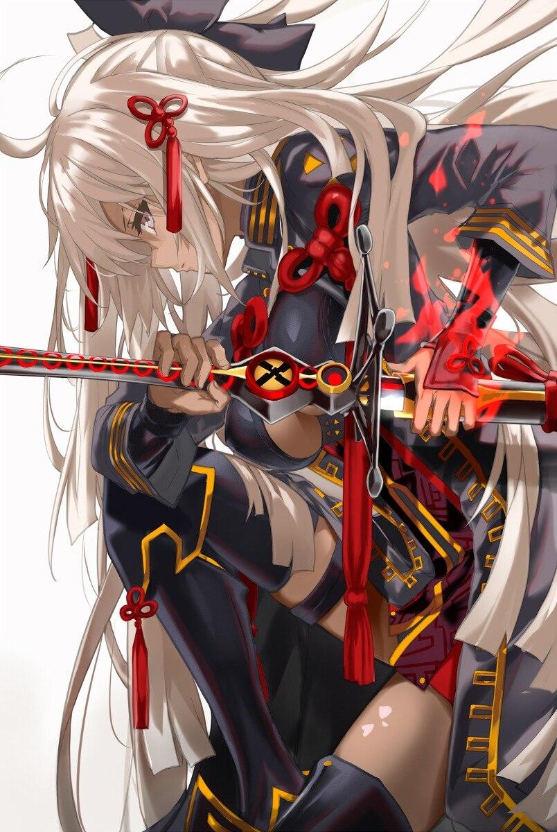 【带兵器的冷酷少女们】日本画师「茨乃」二次元人物插画作品_图片 No.4