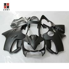 ZXMT Motorcycle Fairing Injection Kit For Honda CBR600 F4I 2001 2002 2003 Bodywork UV Light Curing Paint Matte Black