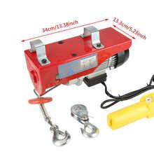 Lifting-Cable Hoist Eu-Plug Electric-Workshop IP54 220V AC 100/200kg