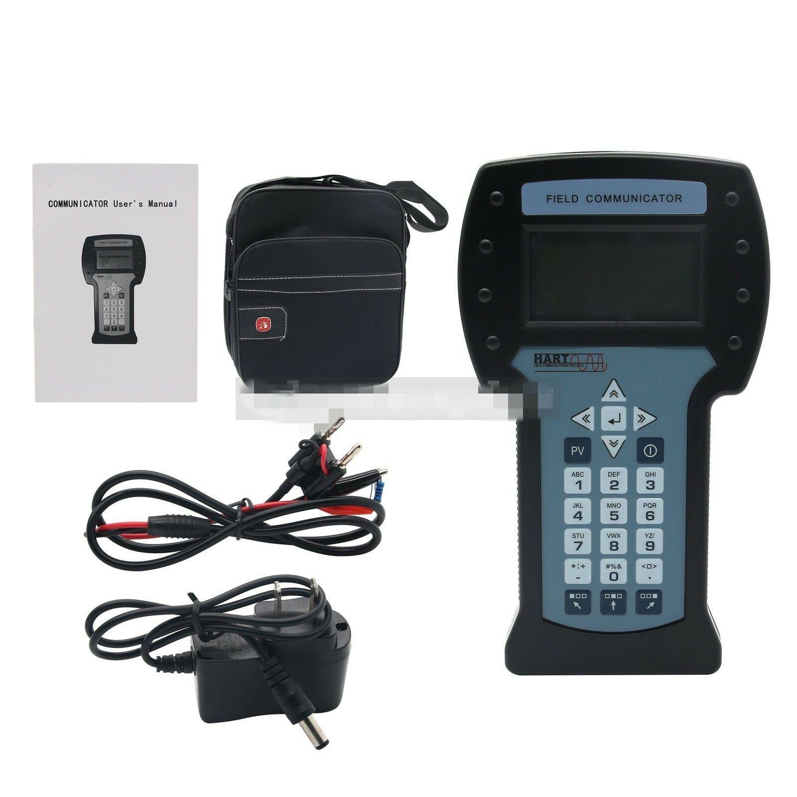 Hart475 Hart Field Communicator For Pressure Temperature Transmitter Calibration Handheld Hart Field + Manual