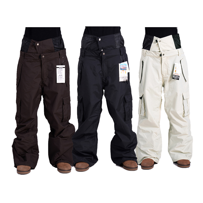 Pantalon de Ski pour hommes en plein air pantalon de Snowboard de Profession d'hiver imperméable coupe-vent pantalon de neige respirant vêtements de Ski chauds
