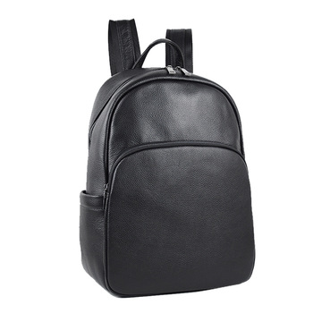 New Style-Style Shoulder Backpack Full-grain Leather Outdoor Casual Backpack Travel Backpack Large Capacity Computer Bag