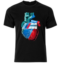 T-Shirt Herz Fan M3 M4 M5 M6 I8 F10 E60 E90 E30 Z4 Z3 T-Shirt T Shirt S-Xxl lustige Design T Shirt