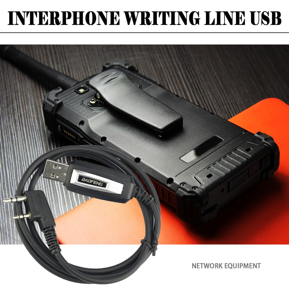 USB Programming Cable/Cord CD Driver For Baofeng UV-5R / BF-888S Handheld Transceiver