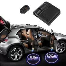 2X Car Accessories Interior Decoration Light LED Door Lamp For Chevrolet Cruze CAPTIVA trax Malibu Blazer Traverse Equinox Aveo