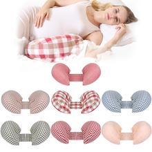Беременная подушка, подушка для поясницы спящий на боку подушка для беременных многофункциональная u-образная подушка для беременных беременности и родам поясничная подушка