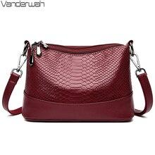 패션 뱀 패턴 가방 숙녀 럭셔리 핸드백 디자이너 메신저 가방 여성을위한 3 레이어 메인 가방 Tendencia 2020 Mujer