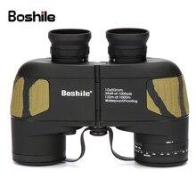 цены Professional Brand 10X50 Rangefinder Nautical Waterproof Military Floating Binoculars Navigation Telescope Built-in Rangefinder