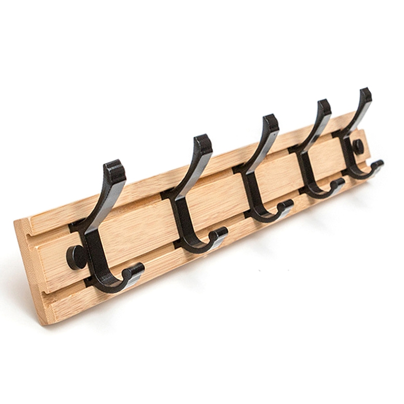 JEYL Nordic Fashion Style Bedroom Furniture Coat Rack Clothes Hanger Hooks Living Room Closet Bamboo Hat Racks Coat Hanger Wall|Hooks & Rails|   - title=