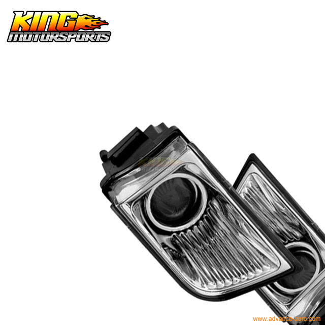 Fit For 03 04 05 Toyota 4Runner OE Fog Lights Clear Lamps Left Right Pair LH RH USA Domestic Free Shipping Hot Selling