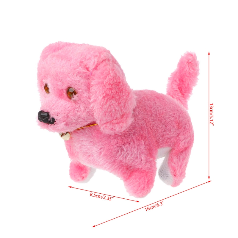 Fashion Walking Barking Toy High Quality Funny Electric Short Floss Dog