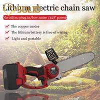 Lithium Chainsaw Brushless Motor Power Tools li ion Cordless Electric Chainsaw Garden Power Tools