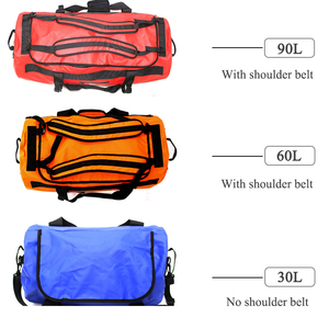 Image 5 - 30/60/90L Outdoor PVC Waterproof Bag Dry Sack Storage Bag for Rafting Canoe Boating Kayaking River Trekking Swimming Travel Bag