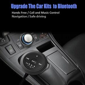 Image 4 - DISOUR Magnético kit Mãos Livres Bluetooth FM Transmissor Do Carro Do Bluetooth Receptor De Áudio 3.5 milímetros AUX Estéreo Sem Fio Adaptador Dongle 5.0