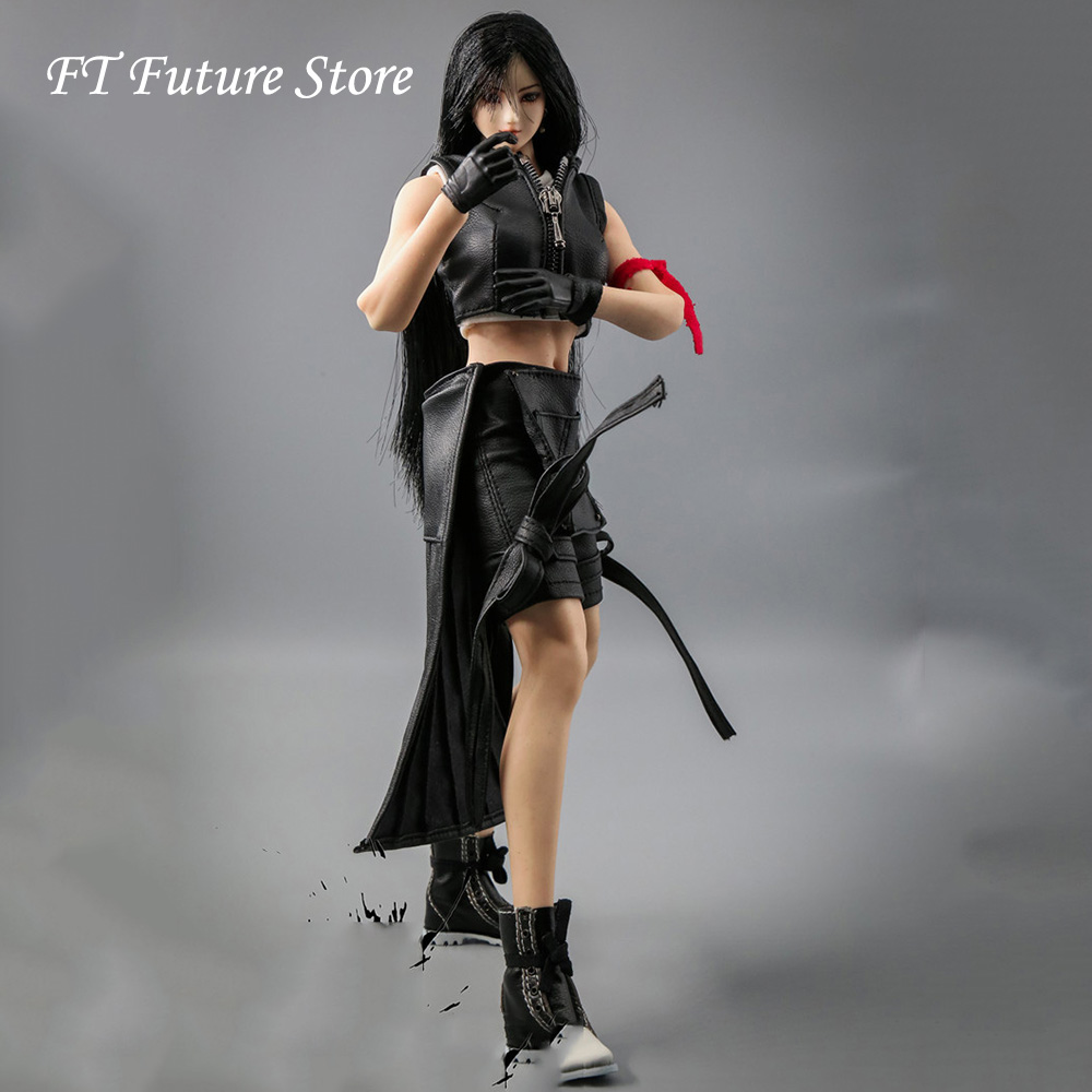 HS-03 1/6 Scale Female Figure Accessory Tifa Lockhart Costume Fantasy Girl Goddess Clothes Model For 12 Inches Action Figure