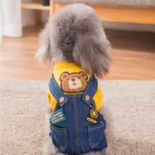 Hipidog Free Shipping New Arrival Cartoon Dog Clothes for Small Dogs Jumpsuit Dropshipping