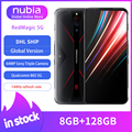 Global Versão Original Nubia Red Magic 5G Gaming MobilePhone 6.65 polegada 144Hz 8GB 128GB Snapdragon 865 android WIFI 6 10