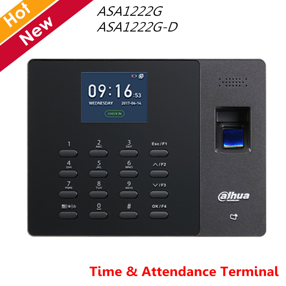 Dahua Access Control Time Attendance Terminal LCD Interface Adopts 32 Bit Processor For Video Intercom Doorbell Systems