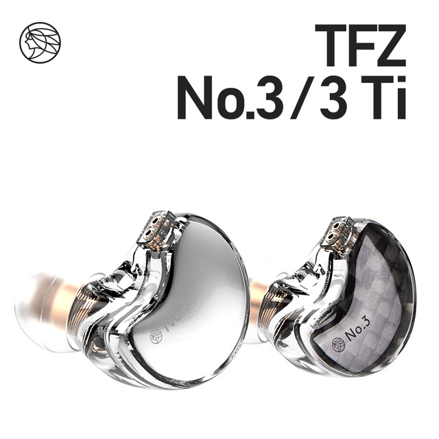 TFZ/No.3 Third Generation Unit In-Ear Headphones, Dynamic Driver 0.78 mm 2pin IEMs Transparent HiFi Detachable headphone 1
