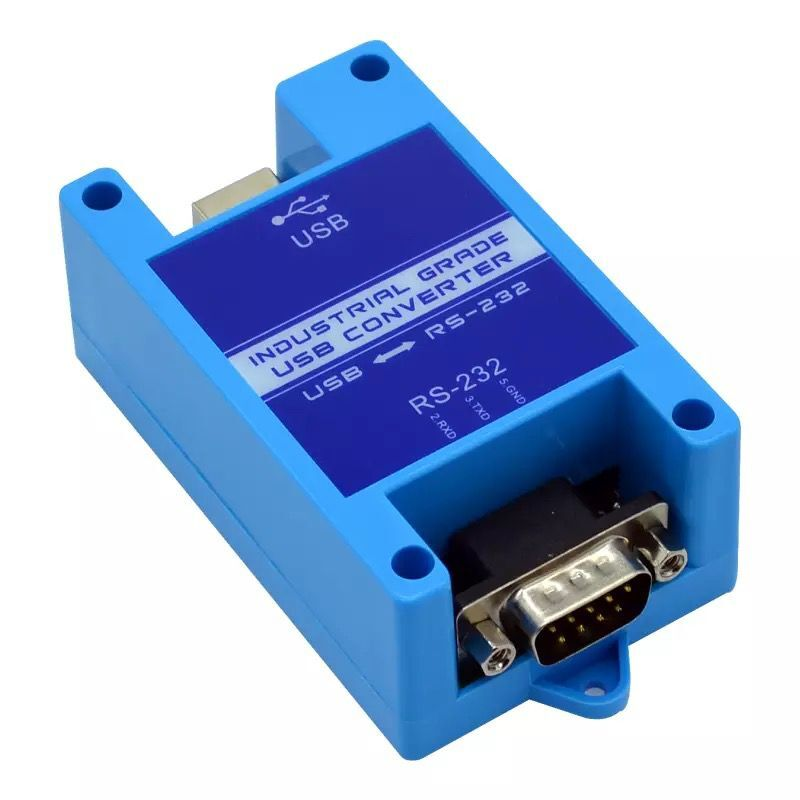 USB To 232 485 422 Industrial Grade Serial Converter 2 Port RS485 To USB Lightning Protection Support WIN7/8/10