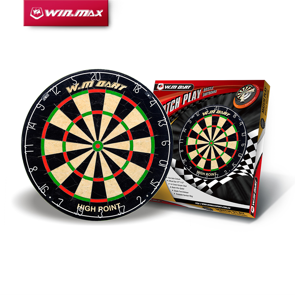 WINMAX Best Quality Top Design Blade Wire System Professional Bristle Dartboard For Match Play